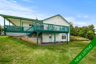 Sarsfield Bungalow for sale with horse-friendly Hobby farm and a picturesque 87 Acres